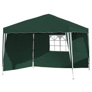 Carpa plegable verde