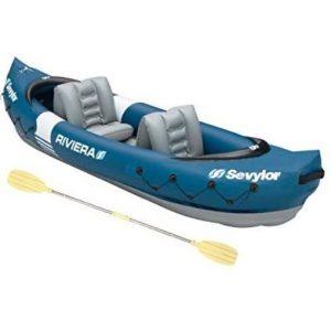 Kayak robusto de dos asientos