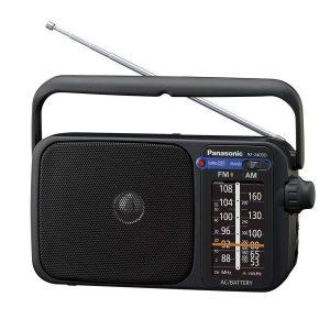 Radio portátil con iluminación LED