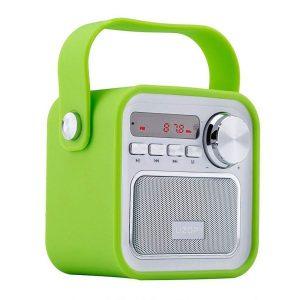 Radio portátil con sonido de alta calidad